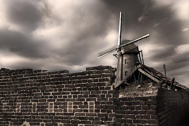 De oude molen