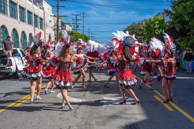 San Francisco Carnaval 2014: transmarine cads