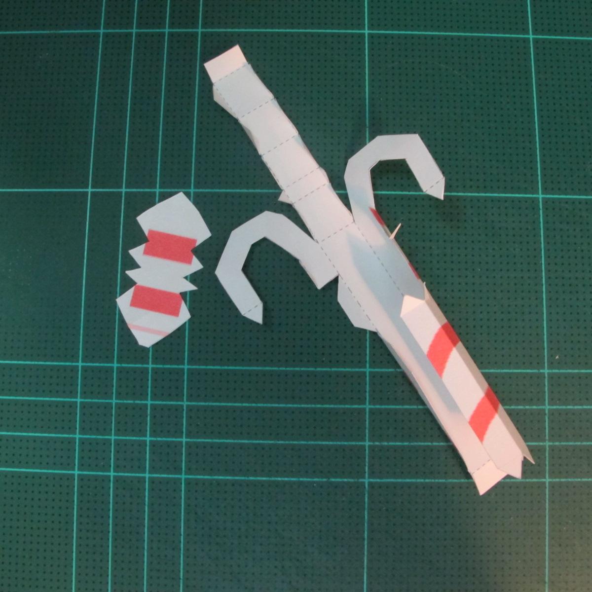 วิธีทำโมเดลกระดาษตุ้กตาคุกกี้รัน คุกกี้ผู้กล้าหาญ แบบที่ 2 (LINE Cookie Run Brave Cookie Papercraft Model Version 2) 013