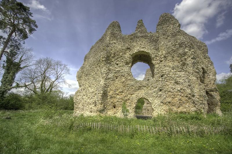 Castillo de Odiham Reino Unido