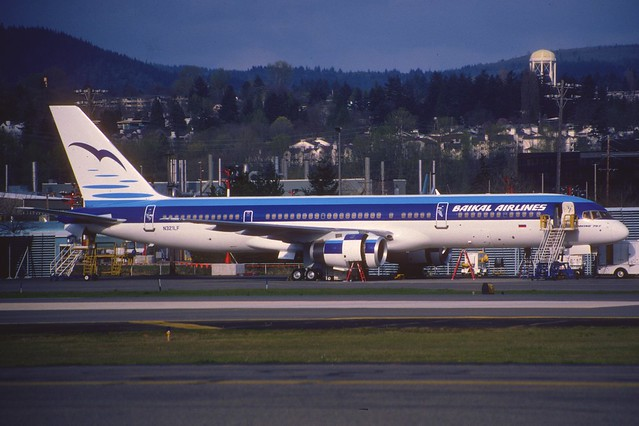 Baikal Airlines Boeing 757-28A; N321LF, April 1994