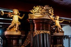 Amsterdam - Ons' Lieve Heer op Solder 13 - Orgel detail