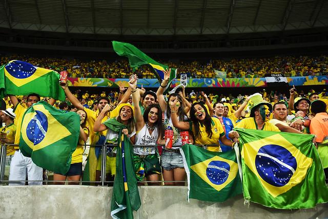 brazil football match