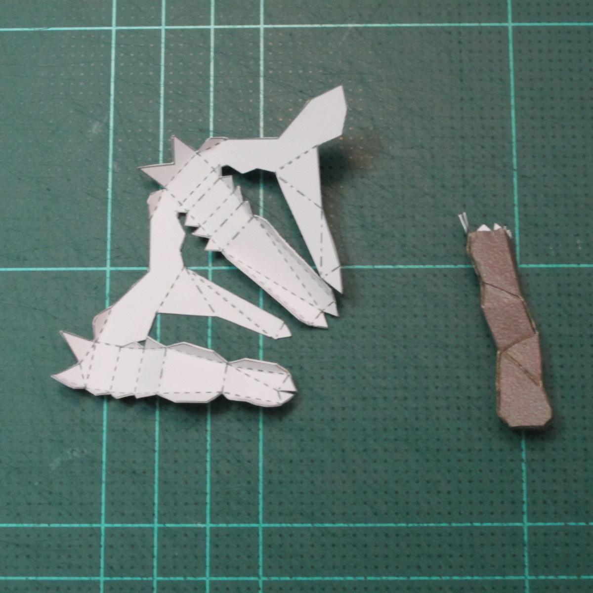 วิธีทำโมเดลกระดาษของเล่นคุกกี้รัน คุกกี้รสพ่อมด (Cookie Run Wizard Cookie Papercraft Model) 021