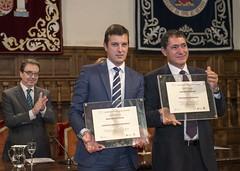Fernando Bermejo e Ignacio Ruíz recogen sus Menciones de Honor