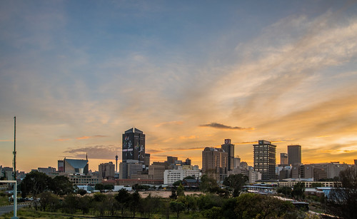 night johannesburg lights sunset sunrise dusk dawn nikon city capital sun house clouds cloud sky outdoor street building long exposure skylines morning south africa pano panorama panoramic southafrica