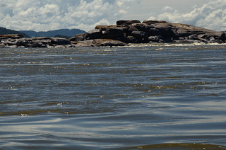 Rocks on the banks of the Orinoco River | by Aztlek