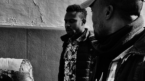 Augustine and Ernest...Migrant stories. Palermo 2017