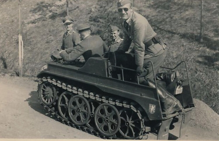 early model Kettenkrad