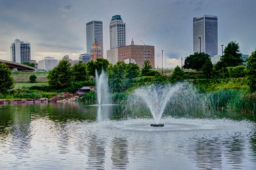 Downtown Tulsa from Centennial Park | by bdecker432