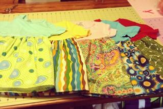 TShirt dresses, my 5 complete!