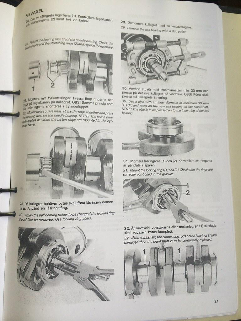 Volvo Penta 400 workshop manual - verkstadshandbok   Flickr