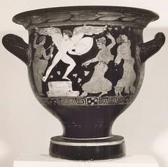 Vase avec scène bacchique