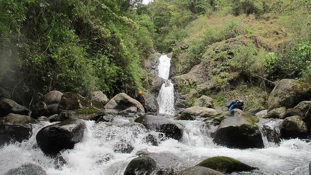 Providencia De Dota Costa Rica Mountian Canyoneering.