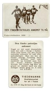Den Finske Patruljes Ankomst til Mål (1930)
