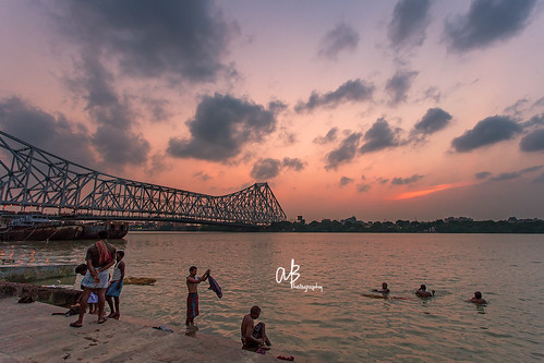 sunset 5d kolkata ganges akash mark2 17mm