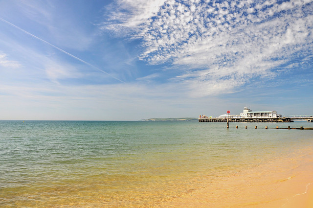 Bournemouth beach at its best