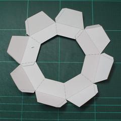 วิธีทำโมเดลกระดาษของเล่นคุกกี้รัน คุกกี้รสพ่อมด (Cookie Run Wizard Cookie Papercraft Model) 043
