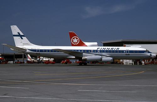 Finnair Dc-8