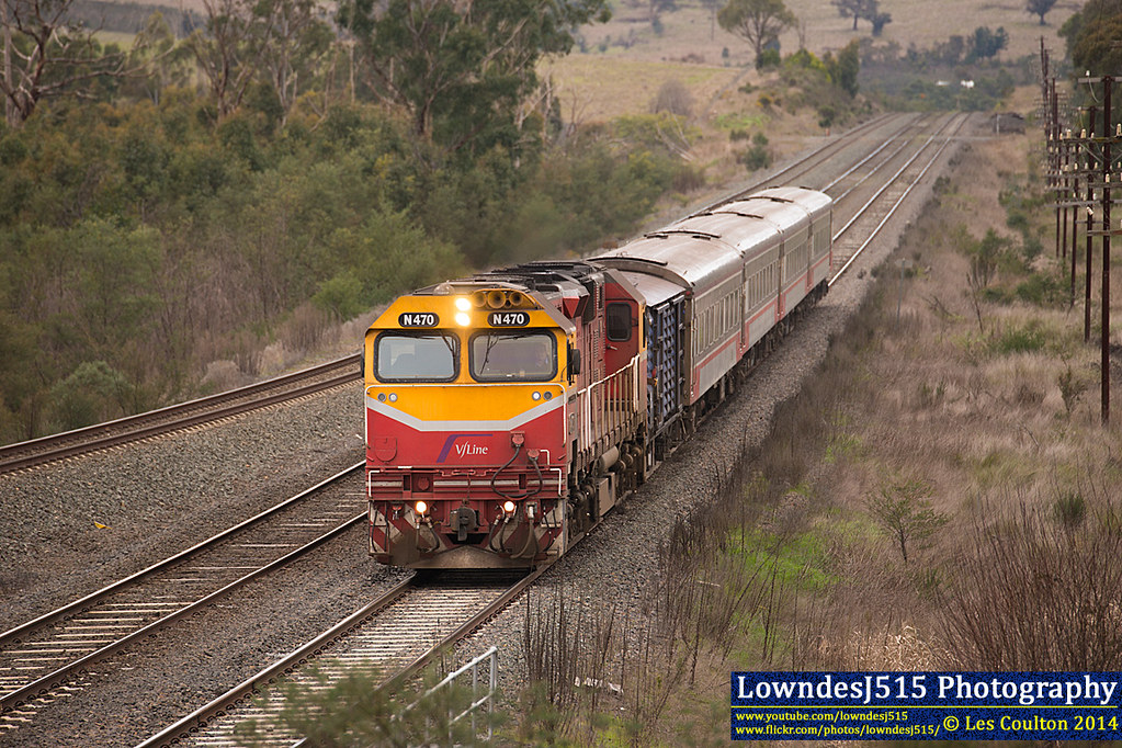 N470 at Mathesons Siding by LowndesJ515