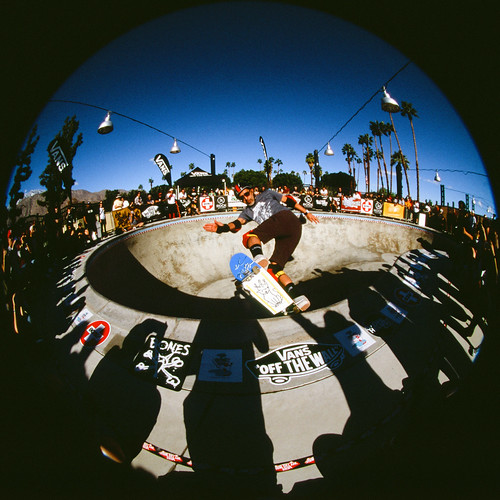 ElGatoClassic-photography-Skateboard-eddie elguera-Palmsprings-Analog-fisheye-joe-segre-12 | by Joe Segre