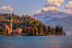 The parochial church of St. Lorenzo, Tremezzo, Lake Como