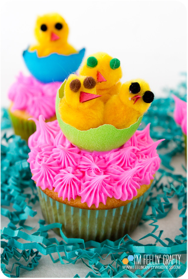 EasterCupcakes-Chicks3-ImFeelinCrafty