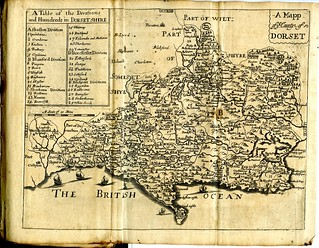 Maps of England circa 1670, Dorset 12 of 40 | by rich701