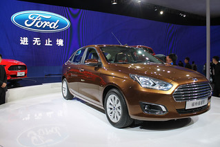 Ford Escort x China @ Beijing 2014