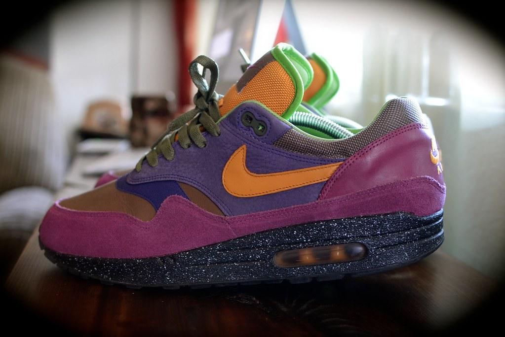 sale retailer 591f1 40fd1 ... Nike Air Max 1 Terra Huarache Grape   by Aeropooch