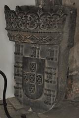 Lisboa (Portugal). Catedral. Claustro. Capilla de N. Sra da Tocha. Escudo de armas de Portugal