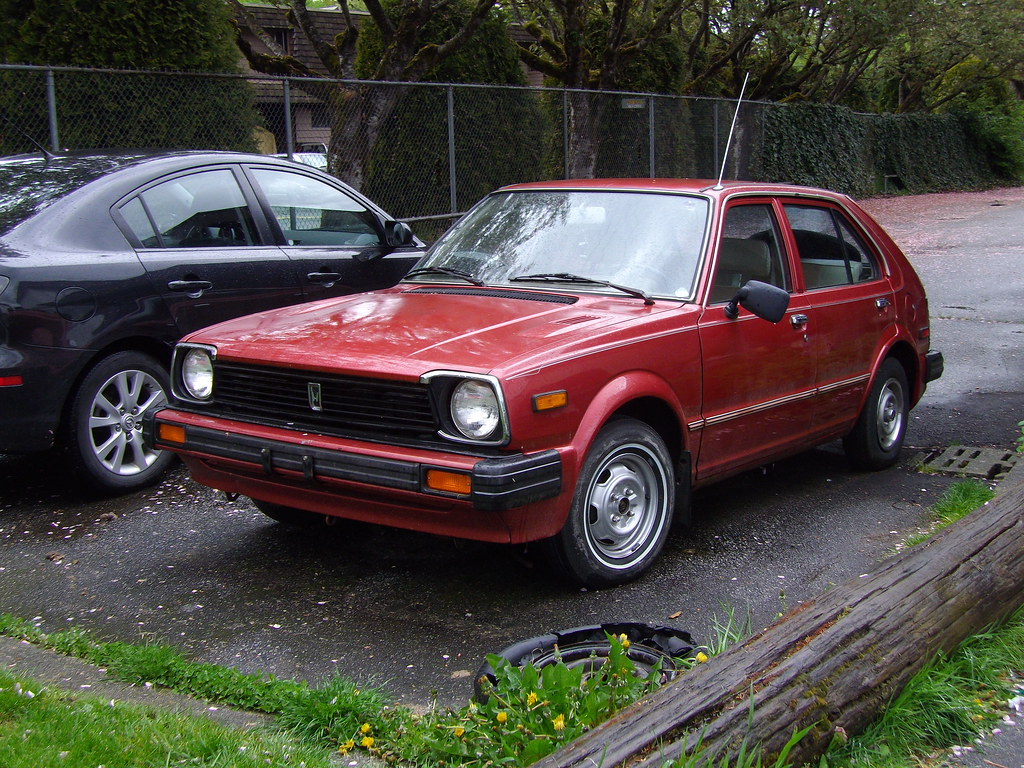 1981 Honda Civic   Found hidden at the back of a housing ...