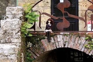 Rise visiting Saint-Cirq-Lapopie