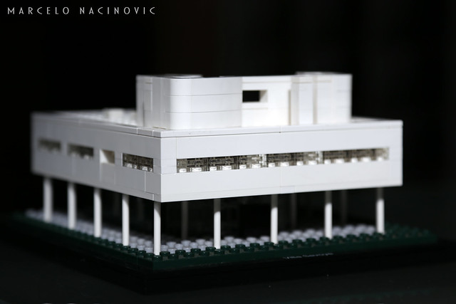 Villa Savoye Lego Architecture Model