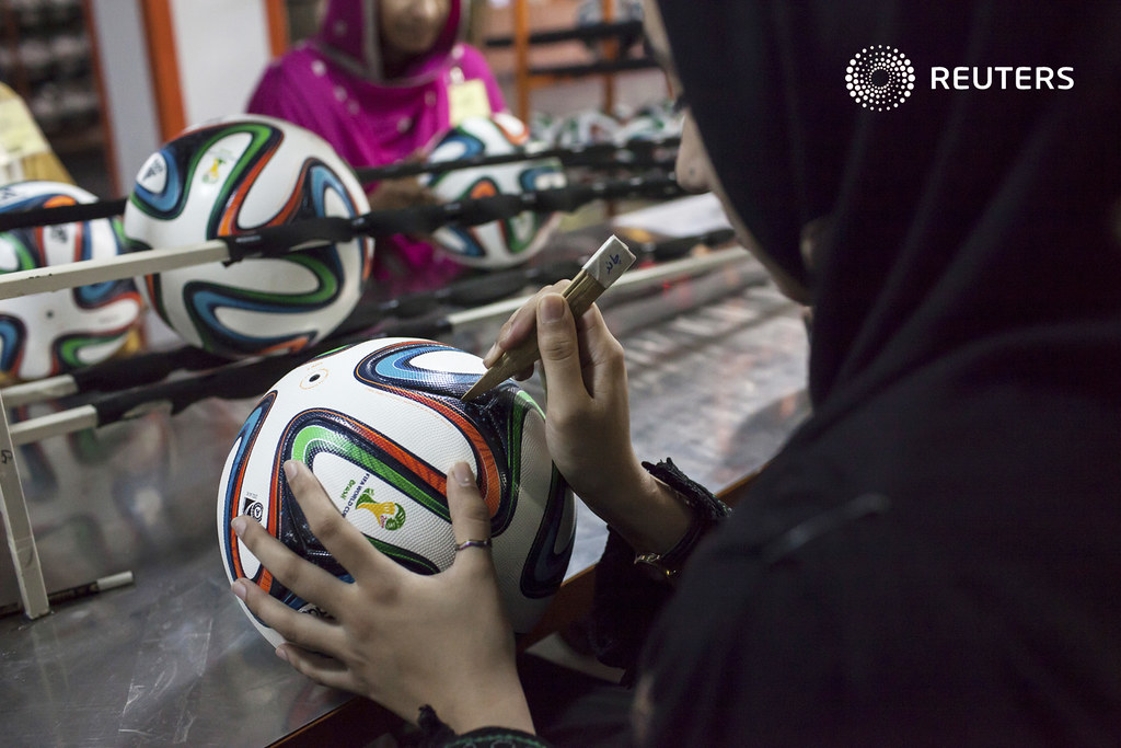 SOCCER-WORLD/PAKISTAN-BALL