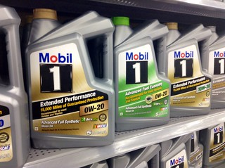 Mobil 1 Synthetic Motor Oil   by JeepersMedia