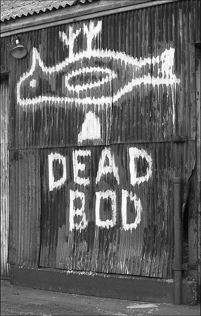 Dead Bod - Dead Bird. Hull. UK. 1980s.