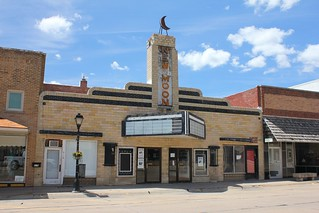 New Moon Theater - Neligh, NE | Built in 1944 in a simplifed… | Flickr