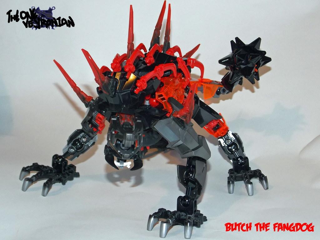 Lego Hero Factory Moc Butch The Fangdog Mod Of 2233 Fan Flickr