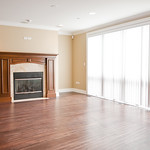 Floor to ceiling windows provide ideal and ample lighting throughout your Park Ridge home.