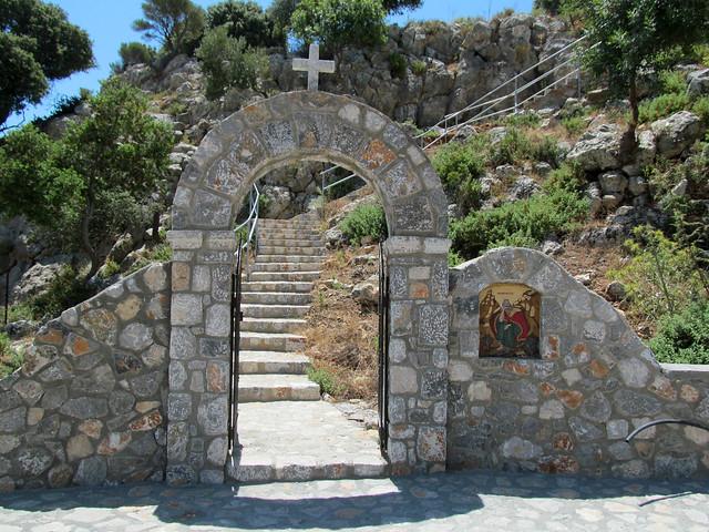 Profitis Ilias chapel, Pefkos