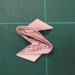 วิธีการพับลูกบอลกระดาษญี่ปุ่นแบบโคลเวอร์ (Clover Kusudama)011