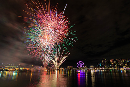 Docklands Fireworks | by Scott Cresswell