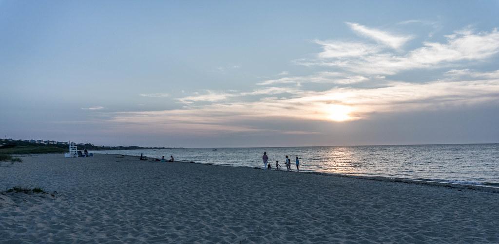 Jetties Beach - Late Day, Nantucket