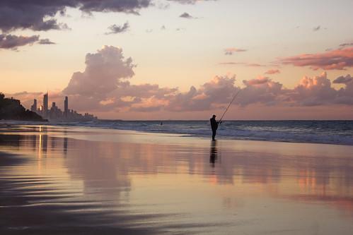 sunset beach australia goldcoast burleighheads allieca