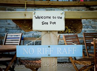 The sea pot.. no riff raff please..