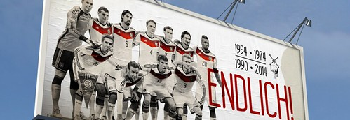 World Cup Brazil 2014 - Germany winners....at last! | by Diego Sideburns