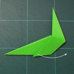 การพับกระดาษเป็นรูปแมวน้ำ (Origami Seal) 006