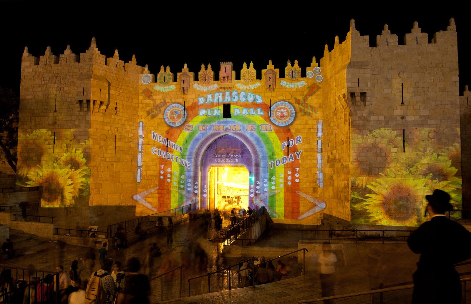 Jerusalem_Festival of Light_Old  City_4_Noam Chen_IMOT