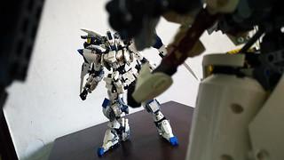 LEGO Gundam Bael & Gundam Kimaris Vidar | by demon1408
